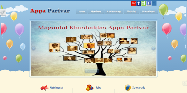 Appa Parivar - Technowaves IT Solutions