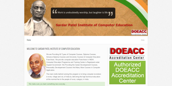 Sardar Patel Institute of Computer Education - Technowaves IT Solutions