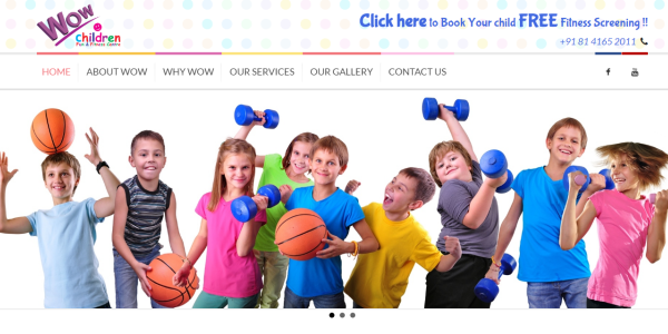 WOW Children Fun & Fitness Center - Technowaves IT Solutions